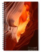 Flames Under The Arizona Desert Spiral Notebook