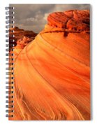 Flaming Dragon Spiral Notebook