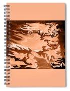 Flaming Horse   -023 Spiral Notebook