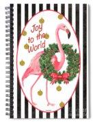 Flamingo Amore 2 Spiral Notebook