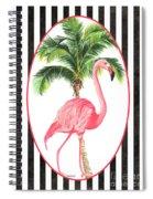 Flamingo Amore 7 Spiral Notebook