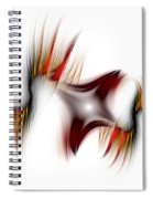 Flamme Flamme Spiral Notebook
