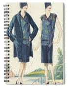Flappers In Frocks And Coats, 1928  Spiral Notebook