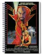 Flash Gordon Spiral Notebook