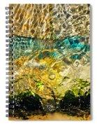 Flash Of Emerald Spiral Notebook