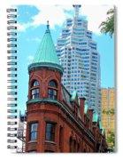 Flat Iron Building Spiral Notebook