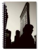 Flat Iron Shadows Spiral Notebook