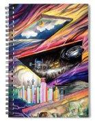 Flat Space. Total Ground Zero Spiral Notebook