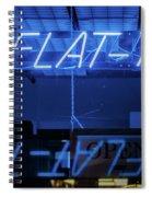 Flat Top Barber Shop Spiral Notebook