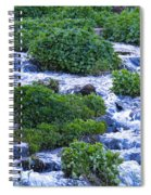Flat Tops Stream Spiral Notebook