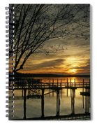 Flat Water Spiral Notebook