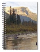 Flathead River Spiral Notebook