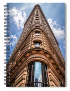 Flatiron Building Nyc Color Spiral Notebook