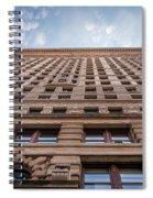 Flatiron Building Sky Color Spiral Notebook