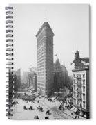 Flatiron Building - Vintage New York - 1902 Spiral Notebook