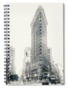 Flatiron Memoirs Spiral Notebook
