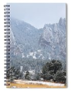Flatirons Spiral Notebook