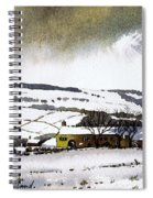 Fleeting Light Stainland Spiral Notebook