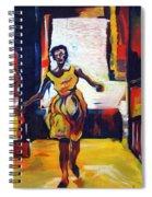 Fleeting Woman Spiral Notebook