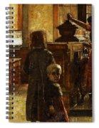 Flemish Tavern Spiral Notebook