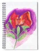 Fleur D'amour Spiral Notebook