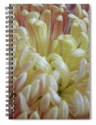 Curled Flower Spiral Notebook