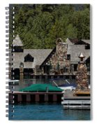 Fleur De Lac Mansion The Godfather II Spiral Notebook