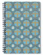 Fleur De Lis Pattern No. 2 Spiral Notebook