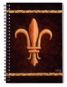 Fleur De Lys-clovis Spiral Notebook