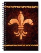 Fleur De Lys-king Charles Vii Spiral Notebook