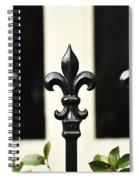 Fleur Di Lis Trio Spiral Notebook