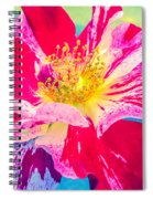 Fleurie Peppermint Rose High Key Spiral Notebook