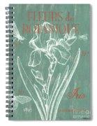Fleurs De Botanique Spiral Notebook