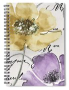 Fleurs De France II Spiral Notebook