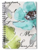 Fleurs De France  Spiral Notebook