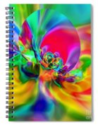 Flexibility 20ca Spiral Notebook