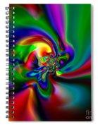 Flexibility 49a1 Spiral Notebook