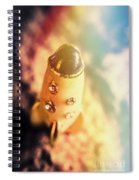 Flight Of Space Fiction Spiral Notebook