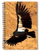 Flight Of The Condor Spiral Notebook