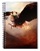 Flight Of The Eagle Spiral Notebook