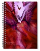 Flight Of The Heart Spiral Notebook