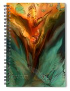 Flight Of The Spirit Spiral Notebook