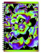 Flin Flon Rose Spiral Notebook