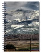 Flint Ridge Range, Deer Lodge, Mt Spiral Notebook