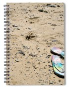 Flipflops Spiral Notebook