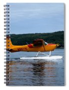 Float Plane Two Spiral Notebook