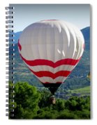 Floatin' In The Rockies 20 Spiral Notebook
