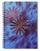 Floating Floral - 001 Spiral Notebook