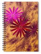 Floating Floral - 005 Spiral Notebook