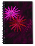 Floating Floral - 006 Spiral Notebook